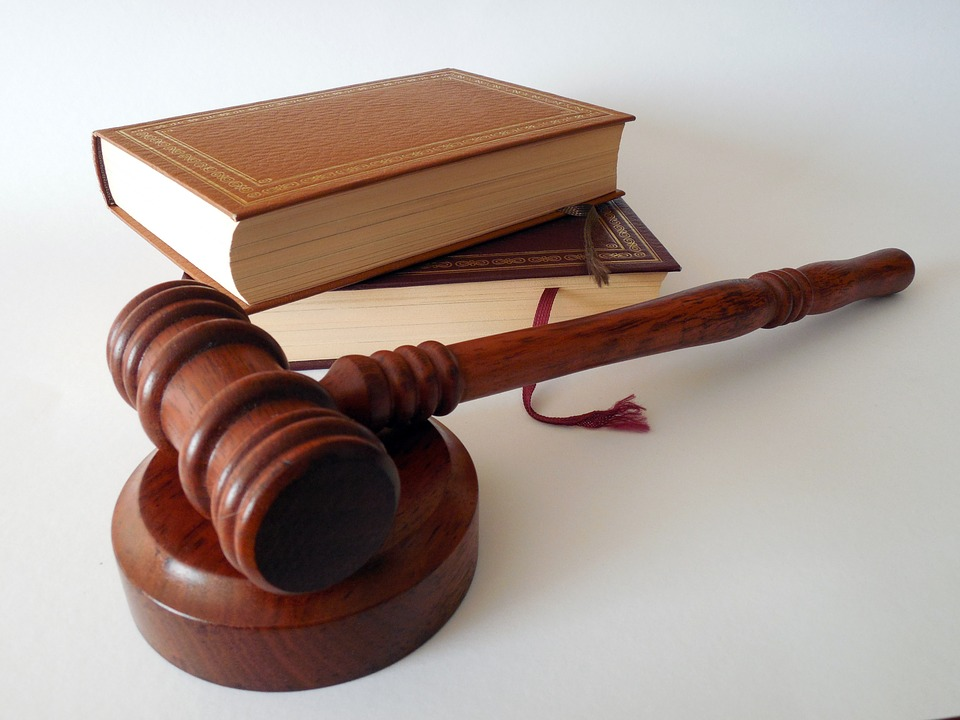 Books and a gavel